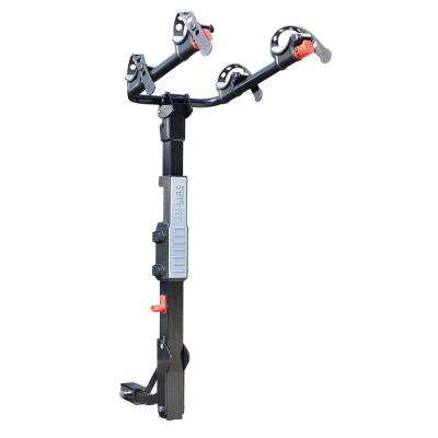 70 lbs. Capacity 2-Bike Vehicle 2 in. and 1.25 in. Hitch Premier Bike Rack