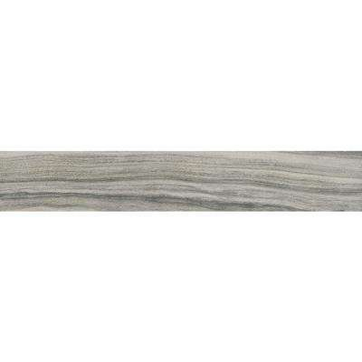 Dellano Moss Grey 8 in. x 48 in. Polished Porcelain Floor and Wall Tile (7.53 sq. ft. / case)