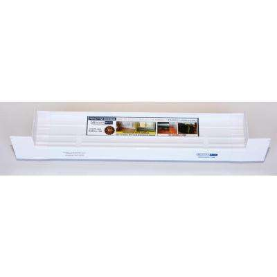 3-1/4 in. x 39 in. Sloped Sill Pan for Use On Vinyl Sliding Door and Window Installation and Flashing