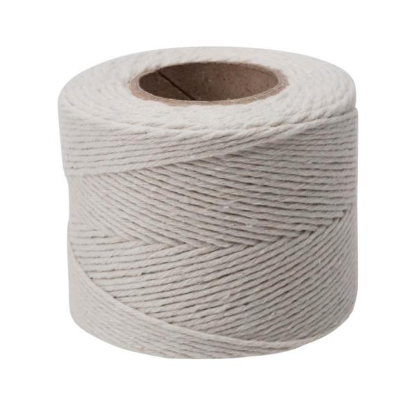 #12 x 420 ft. 100% Cotton Twine Rope, White