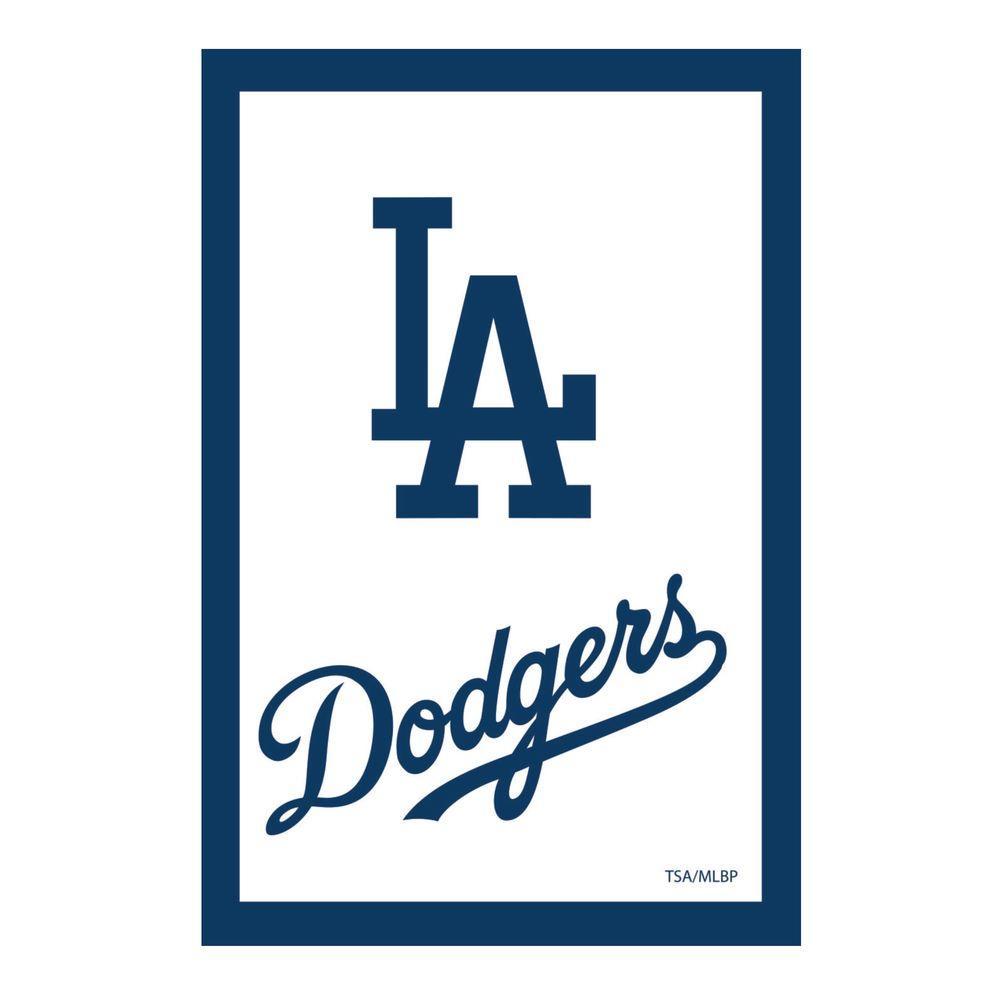 Fan Essentials Mlb 1 Ft X 1 1 2 Ft Los Angeles Dodgers 2