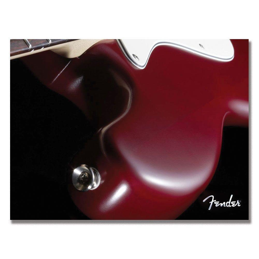 Trademark Fine Art 18 in. x 24 in. Fender Bass Canvas Art