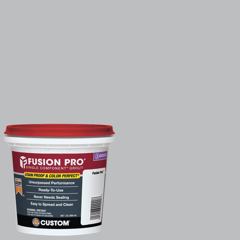 Custom Building Products Fusion Pro #115 Platinum 1 Qt. Single Component Grout