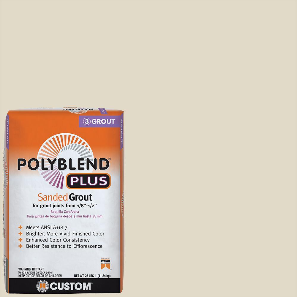 Polyblend Plus #333 Alabaster 25 lb. Sanded Grout