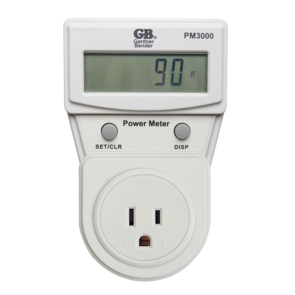 Gardner Bender Energy Usage Power Meter-PM3000 - The Home Depot