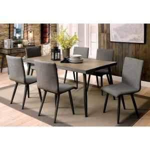Vilhelm I Gray Mid Century Modern Style Dining Table