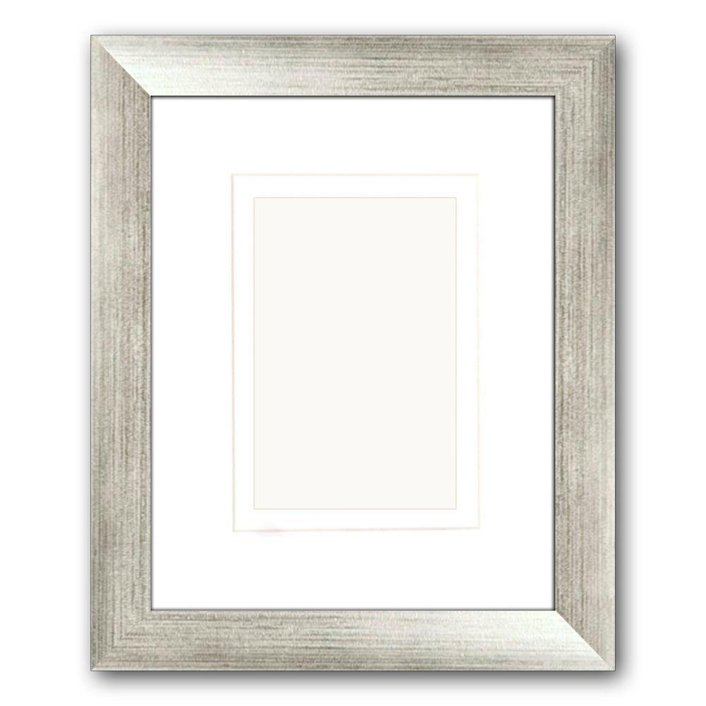 Silver Metallic Wall Frames Wall Decor The Home Depot