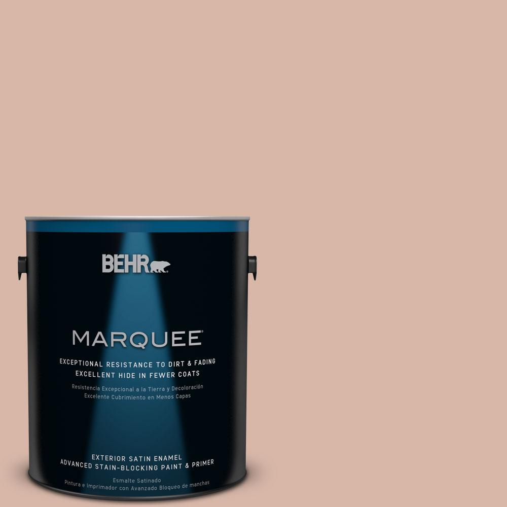BEHR MARQUEE 1-gal. #S190-4 Spiced Brandy Satin Enamel Exterior Paint