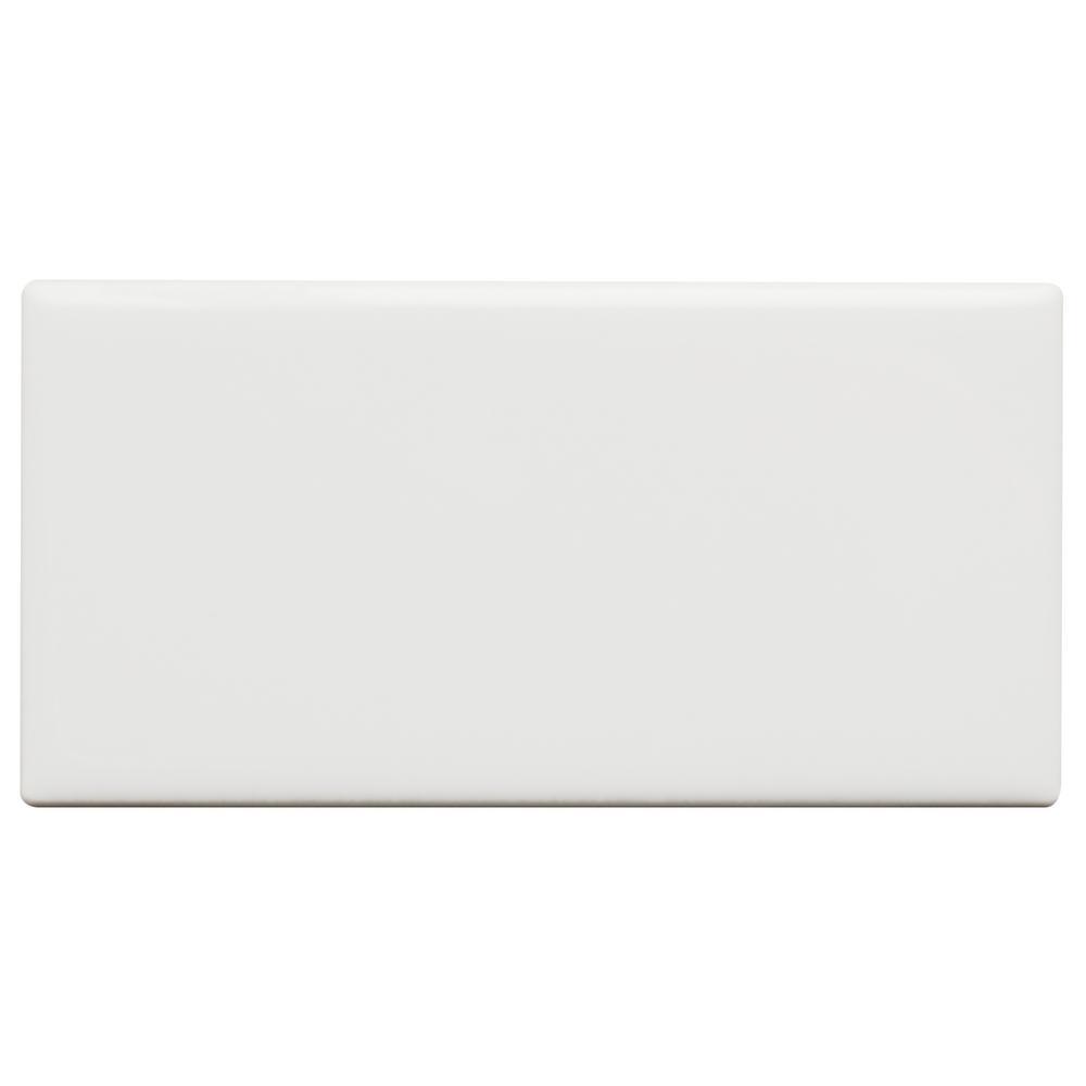Daltile restore bright white 3 in x 6 in ceramic modular wall daltile restore bright white 3 in x 6 in ceramic modular wall tile dailygadgetfo Images