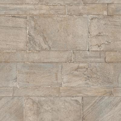 Beige Sandstone Wall Peel and Stick Wallpaper Sample