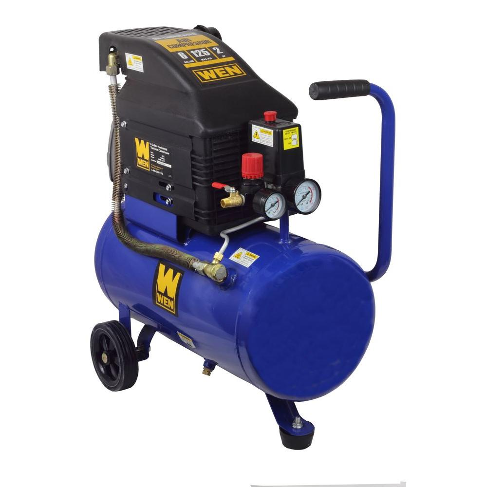 WEN 6 Gal. Portable Electric Air Compressor