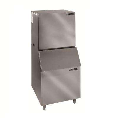 1000 lb. Freestanding Ice Maker in Stainless Steel