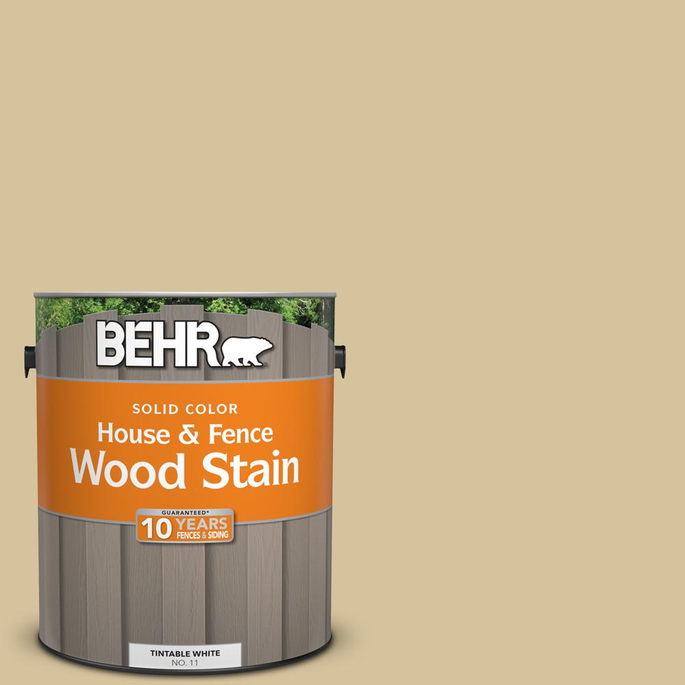 1 gal. #HDC-NT-02 White Oak Solid Color House and Fence Exterior