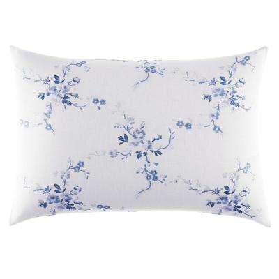 14 in. x 20 in. Charlotte China Blue Throw Pillow