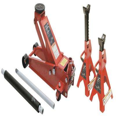 3.5 Ton Service Jack with 6 Ton Jack Stands