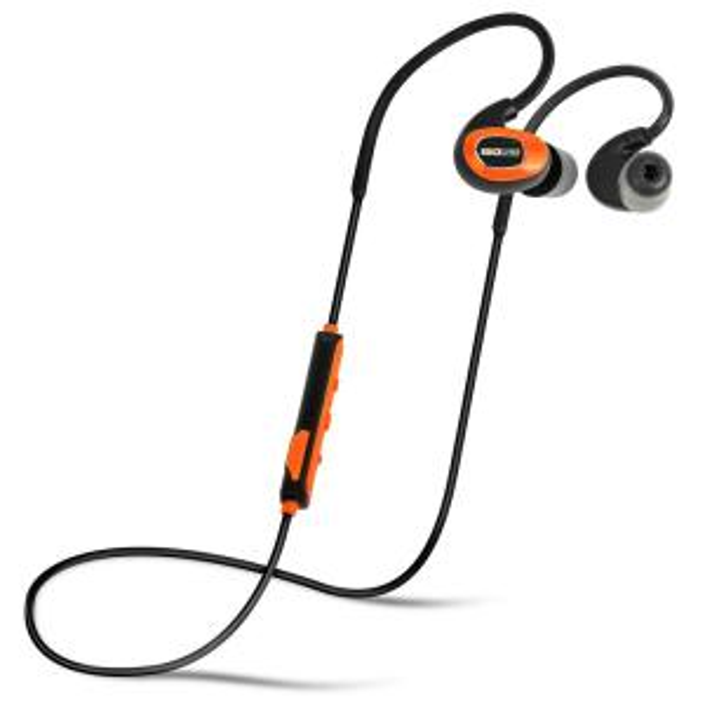 PRO Bluetooth Earplug Headphones, 27 dB NRR, 10-hour battery, OSHA Compliant, Noise Cancelling Mic