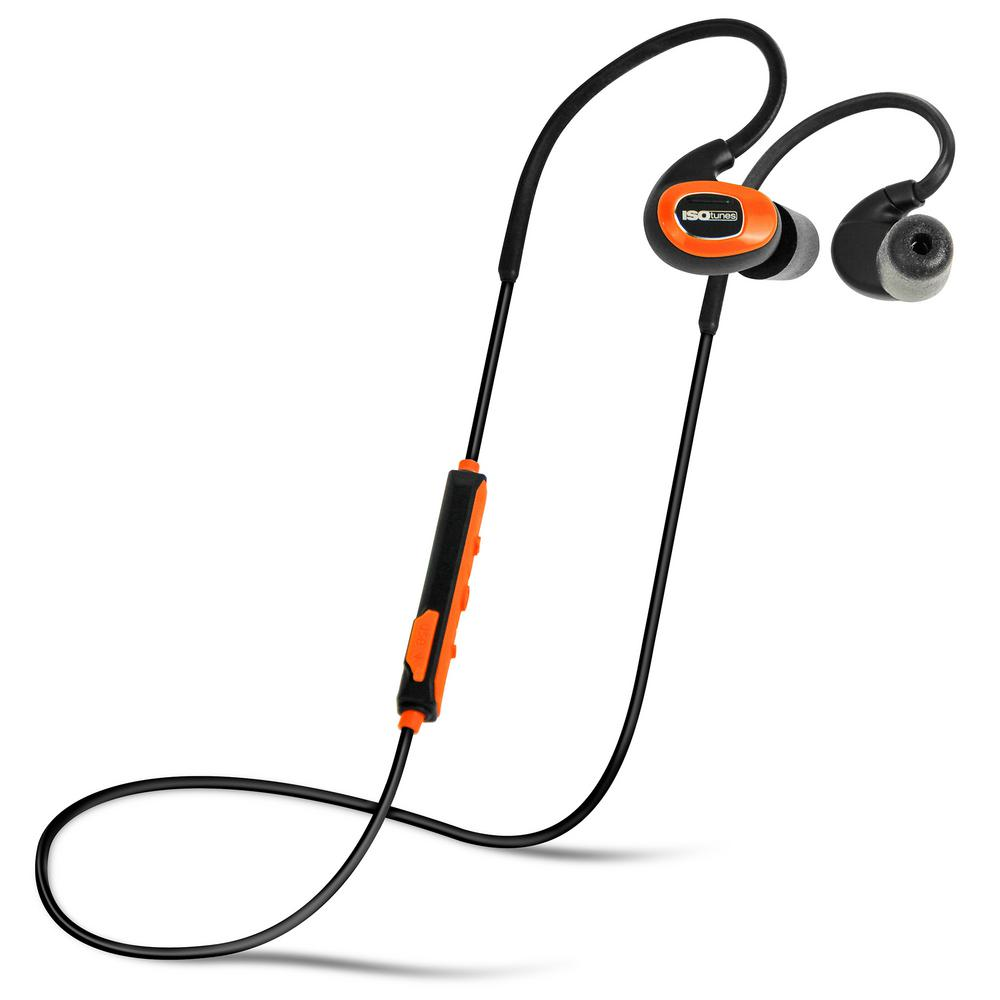 PRO Bluetooth Earplug Headphones, 27 dB NRR, 10-hour batt...