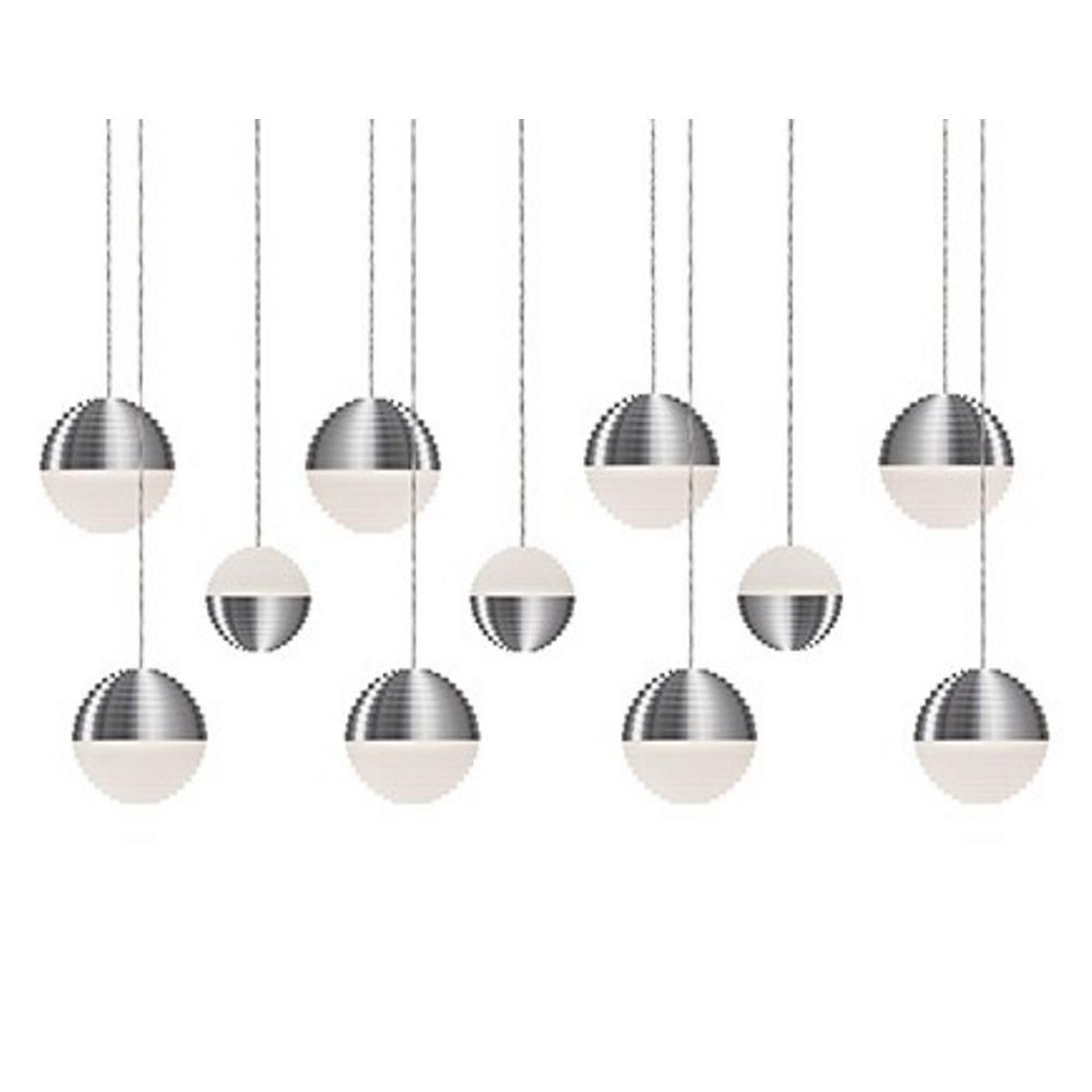 Tech Lighting Home Depot: Radionic Hi Tech Jessa 1-Light 60-Watt Equivalence Brushed