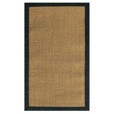 Rio Amber/Black 4 ft. x 6 ft. Area Rug