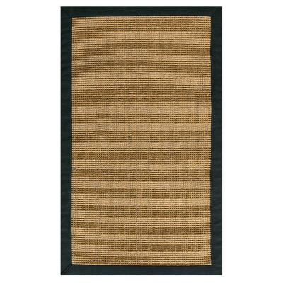 Rio Amber and Black 7 ft. x 9 ft. Area Rug