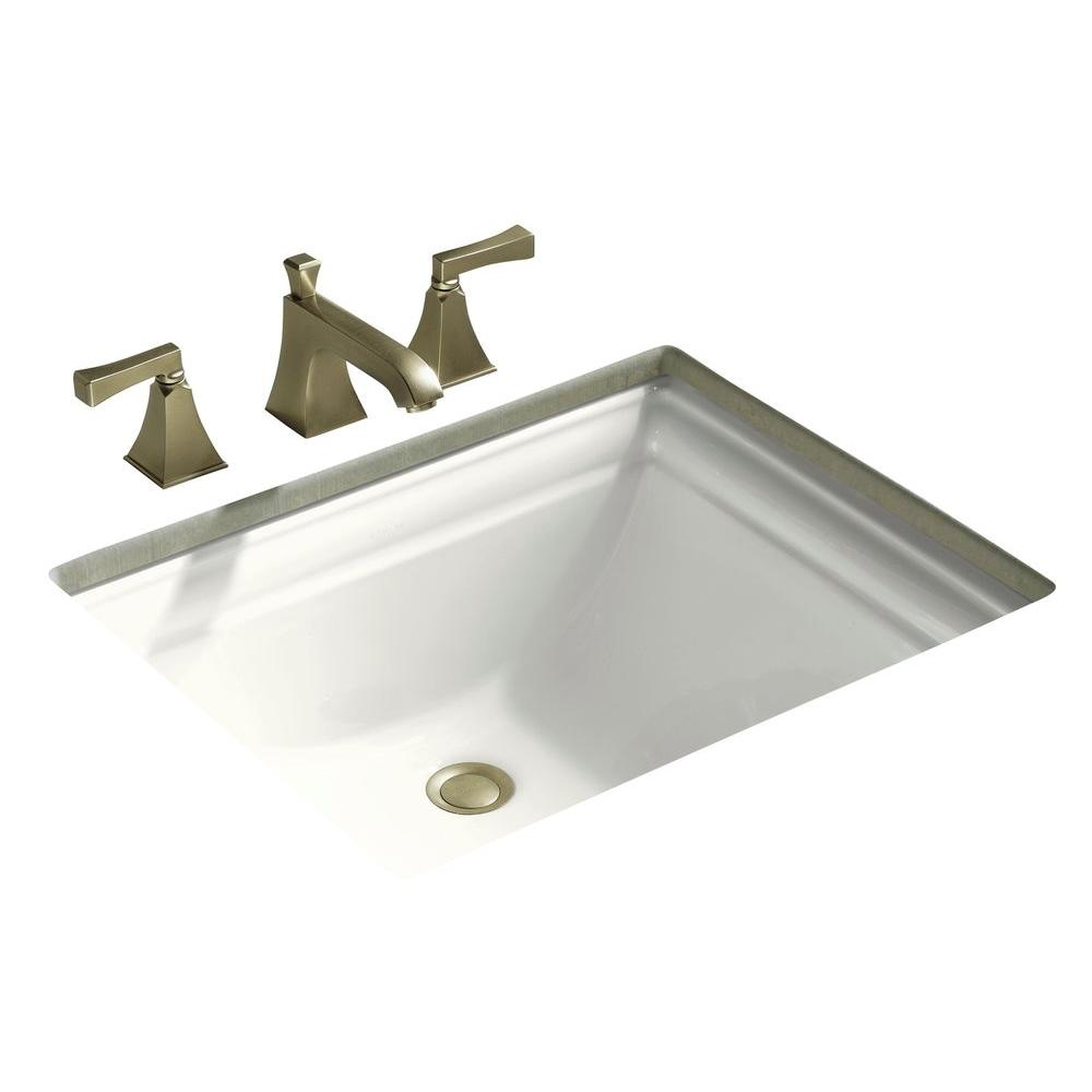 kohler memoirs vitreous china undermount bathroom sink in white with rh homedepot com