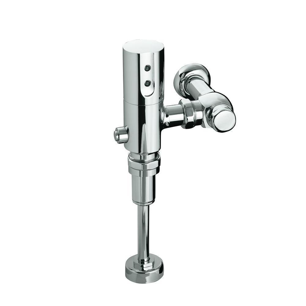 Kohler 1.0 GPF Touchless DC Siphon Jet Urinal Flushometer, Polished ...