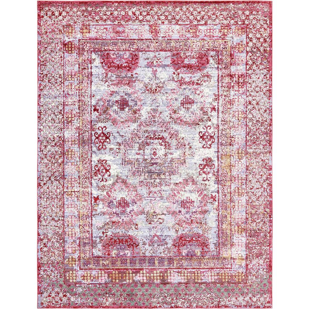 Aria Red 9 ft. x 12 ft. Area Rug, Strawberry Red