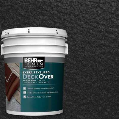 5 gal. #SC-102 Slate Extra Textured Solid Color Exterior Wood and Concrete Coating