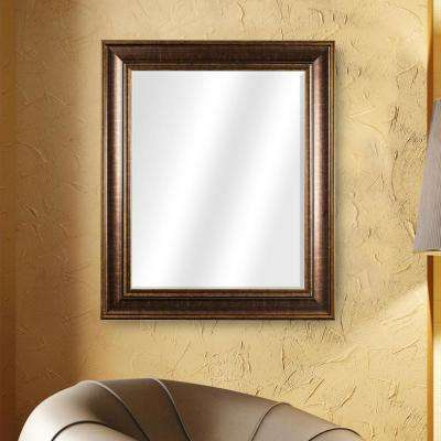 Bentley Rectangular Brown Vanity Mirror
