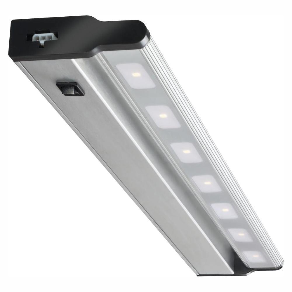 Led Brushed Nickel Under Cabinet Light