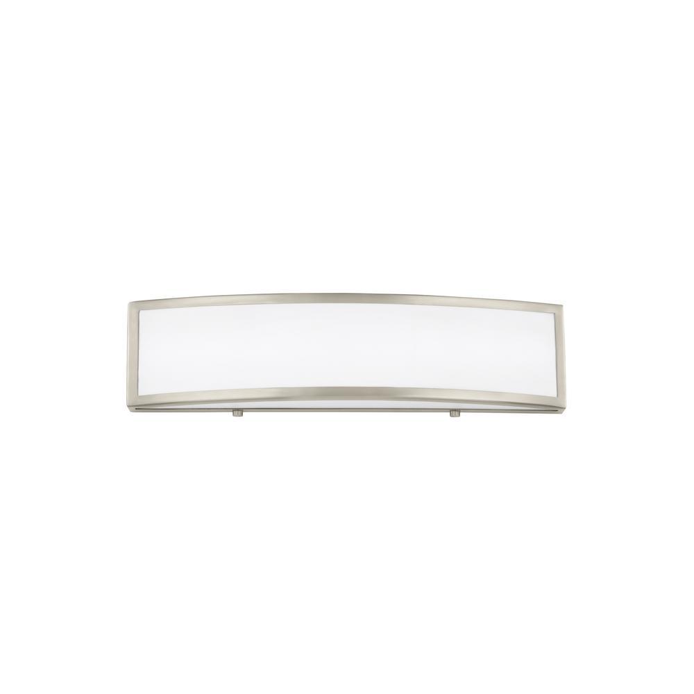 Jinko Led 5w Integrated Ceiling Lamp Bedroom Kitchen: Sea Gull Lighting Colusa 16.5-Watt Brushed Nickel
