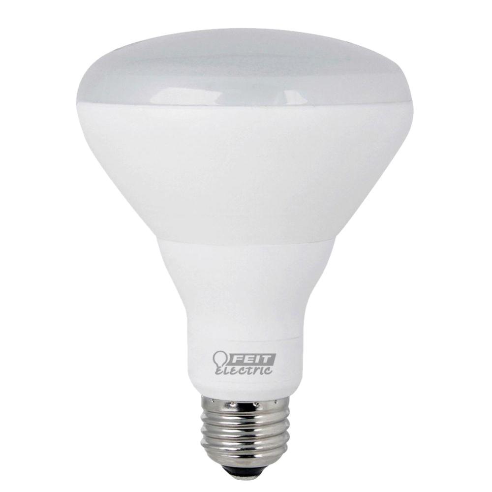65w equivalent soft white 2700k br30 dimmable enhance led light bulb