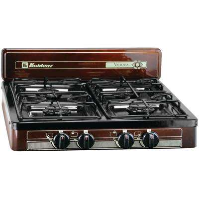4-Burner Outdoor Gas Stove