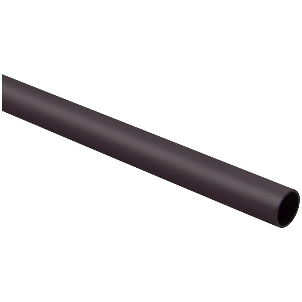Stanley-National Hardware 8 ft. Bronze Heavy-Duty Closet Rod-BB8184 ...
