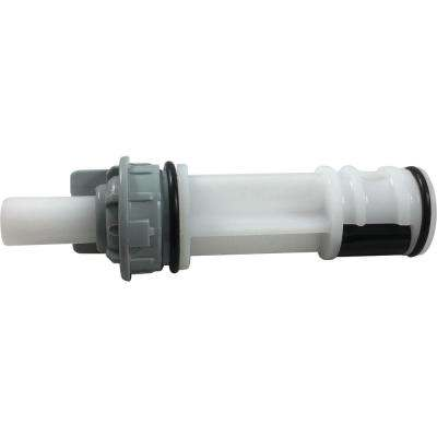 Diverter Assembly for Tub/Shower Faucets in White/Grey