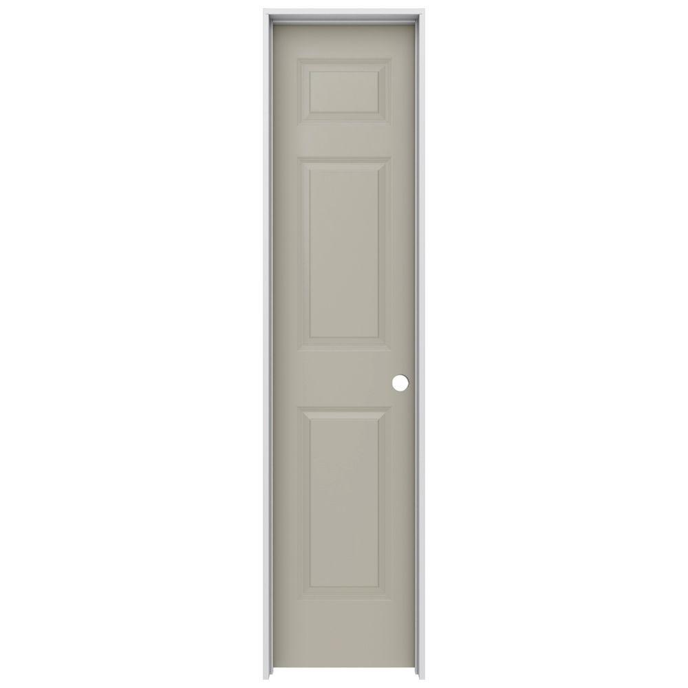 Jeld wen 18 in x 80 in colonist desert sand left hand for 18x80 interior door