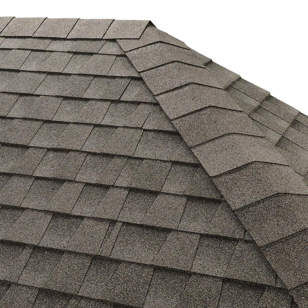 Seal-A-Ridge Oyster Gray Hip and Ridge Shingles (25 linear ft. per