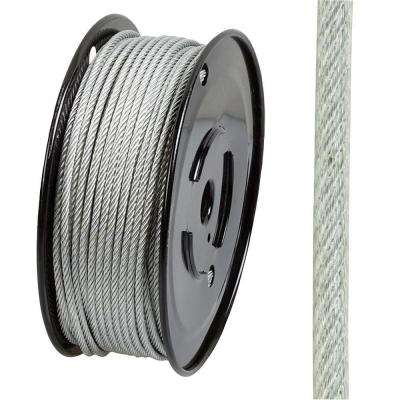 3/32 in. x 250 ft. Galvanized Vinyl-Coated Wire Rope