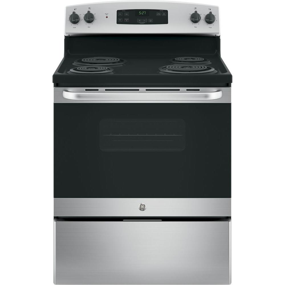 30 in. 5.0 cu. ft. Free-Standing Electric Range with Standard Clean