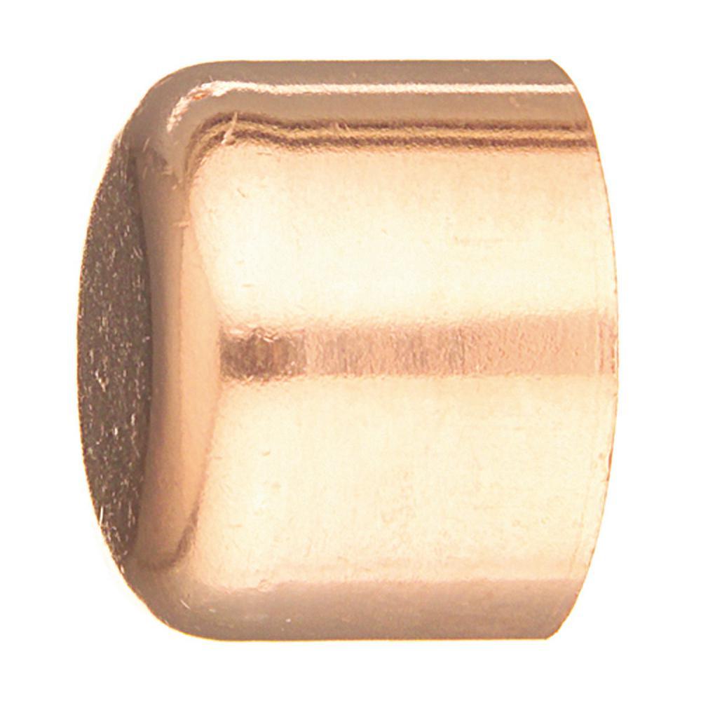 1/2 in. Copper Cap (50-Pack)