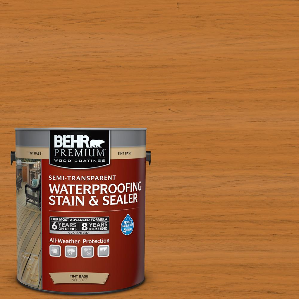 1 gal. #ST-140 Bright Tamra Semi-Transparent Waterproofing Stain and Sealer