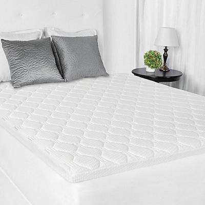 3.5 in. Queen Memory Foam and Micro Coil Mattress Topper