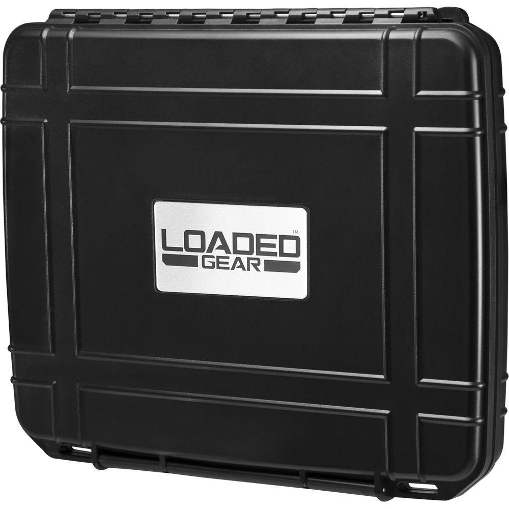 Loaded Gear 1-Piece HD-10 Tablet Hard Case - Black