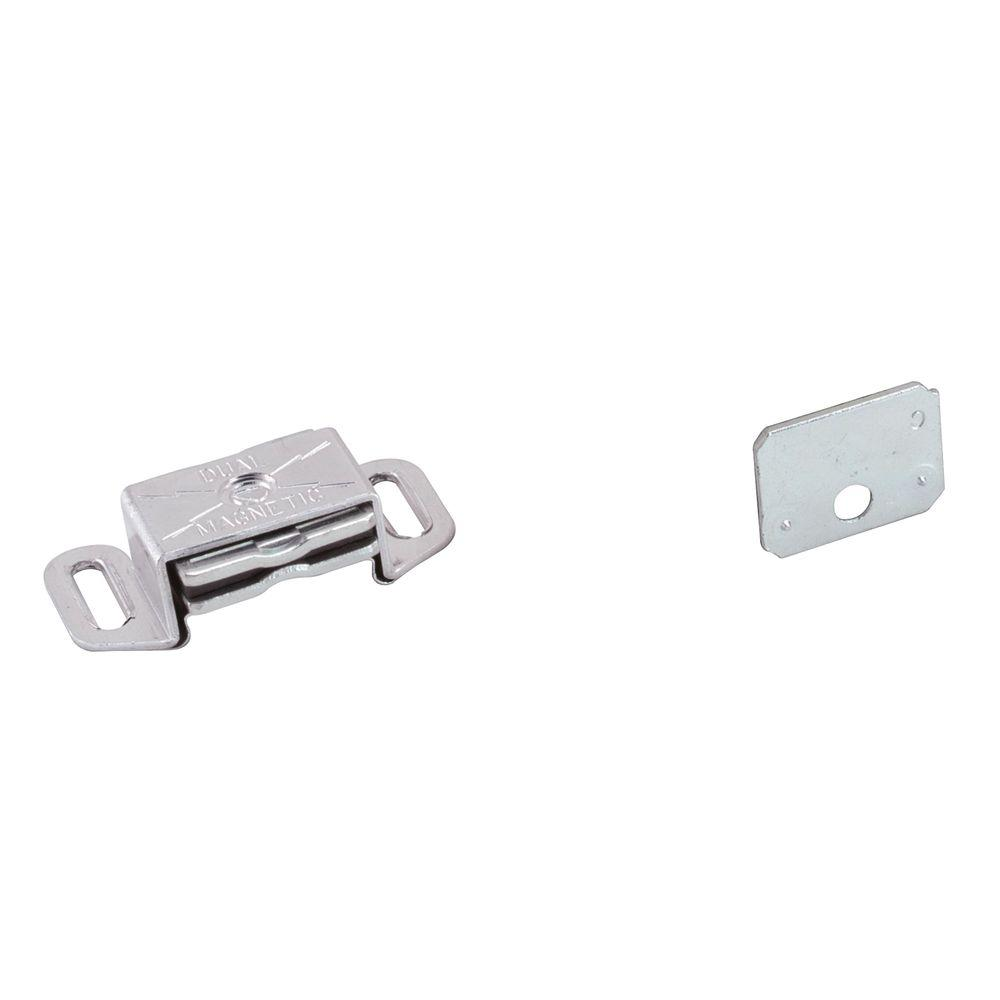 1-1/2 in. Aluminum Magnetic Catch with Strike