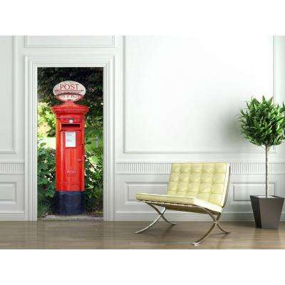 79 in. x 0.25 in. Postbox Wall Mural
