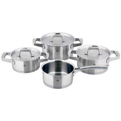 Kaiserstuhl 7-Piece Stainless Steel Stock Pot Set with Lids
