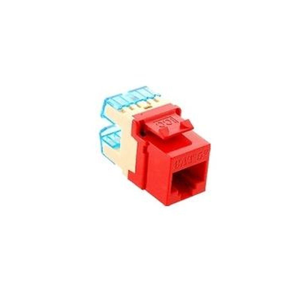 25 Pk Hd Cat 5E Red Icc Module