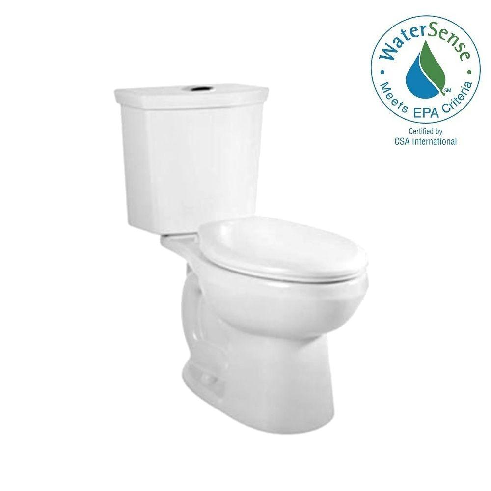 American Standard Cadet 3 Tall Height 2-Piece 1.0/1.6 GPF Dual Flush ...