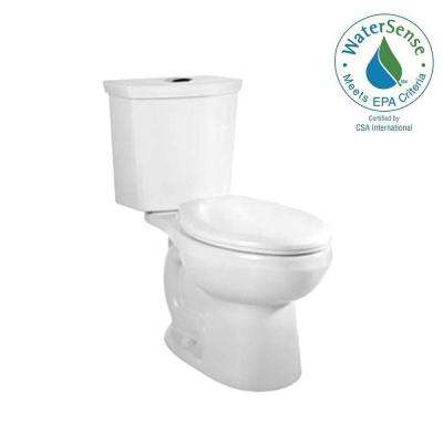Cadet 3 Tall Height 2-Piece 1.0/1.6 GPF Dual Flush Elongated Toilet in White with Slow Close Seat