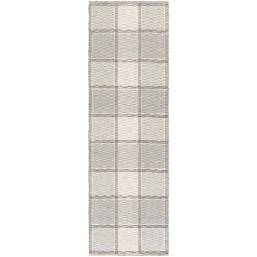 Dione Light Gray 2 ft. 6 in. x 8 ft. Indoor Runner